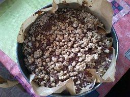 Zdravý ovesný dortík