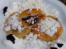 Povidlové / marmeládové placky z bramborového těsta