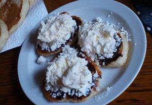 Lívanečky z máslové dýně