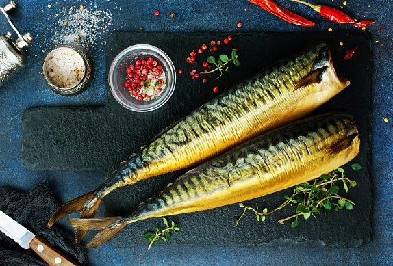 Čočka s uzenou makrelou a grepem