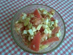 Rajský salát - light