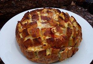 "Zapečený bochníček aneb ""chlebový ježek"""