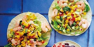 Tacos: recept s krevetami
