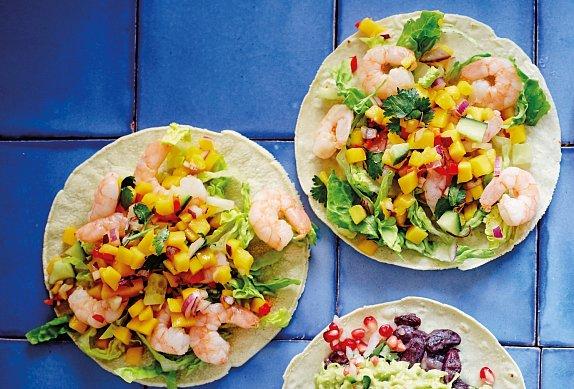 Tacos: recept s krevetami photo-0