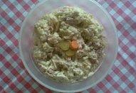 Speciální bramborový salát s šunkou