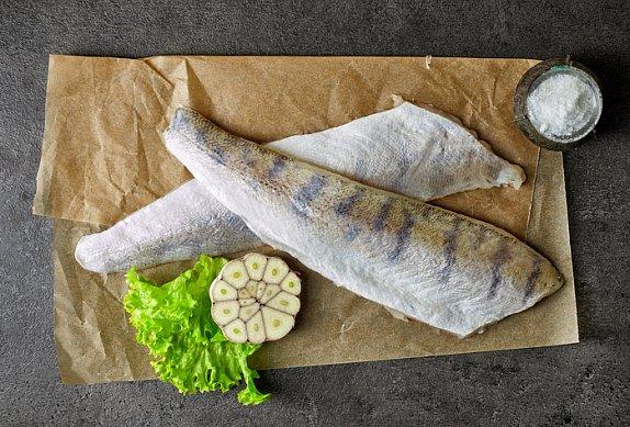 Filet ze pstruha s čočkovým salátem