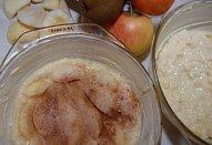 Hruškový / Jablečný rýžový nákyp