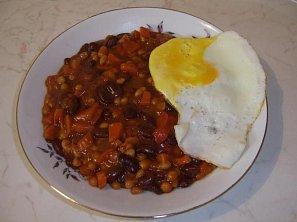 Rychlé chilli fazole