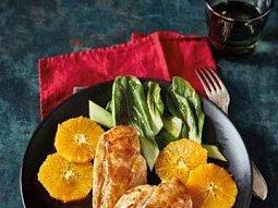 Kuřecí prsa s pomeranči