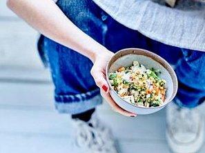 Salát z čínského zelí a papáji