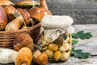 Recept na nakládané houby – postup přípravy, suroviny a více variant receptu