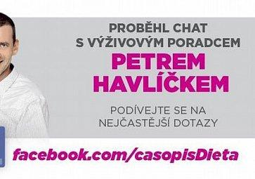 Chat s Petrem Havlíčkem: 5200 kJ na den je nesmyslně málo!