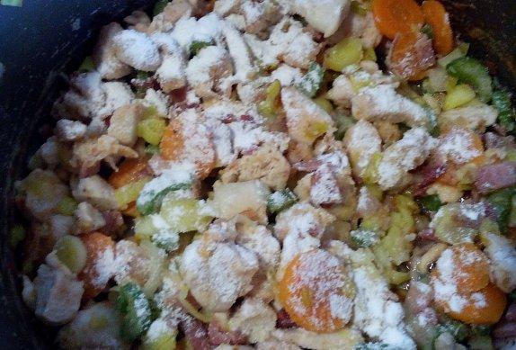 Kuřecí ragú se zeleninou