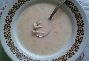 Hermelínová polévka
