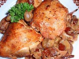 Kuře nejen s brusinkami