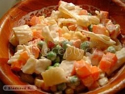 3x3 - těstovinový salát