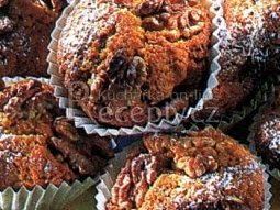 Kalifornské ořechové muffinky