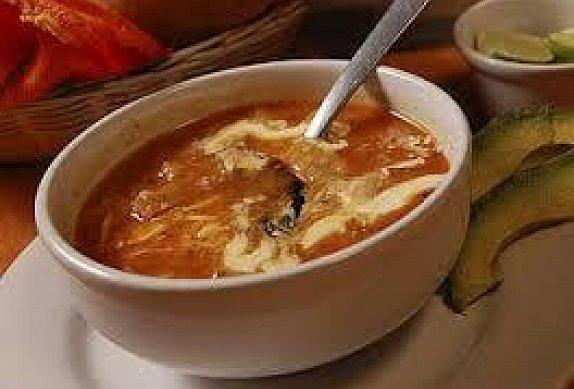 Mexická polévka Sopa Tarasca photo-0