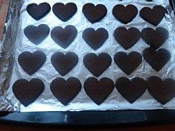 Kakaová srdíčka