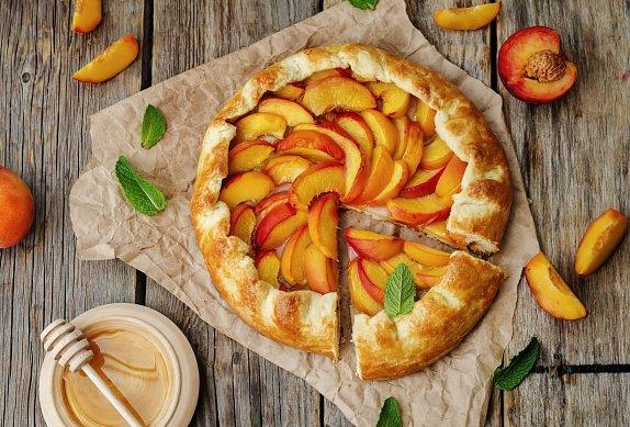 Tvarohovo-nektarinkový koláč photo-0