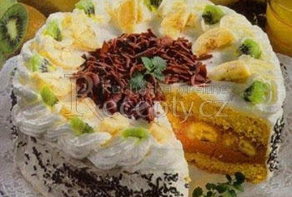 Jemný ovocný dezert