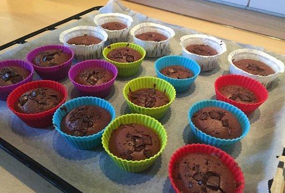 Čokoládové muffinky II.