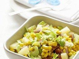 Celerový salát s ananasem