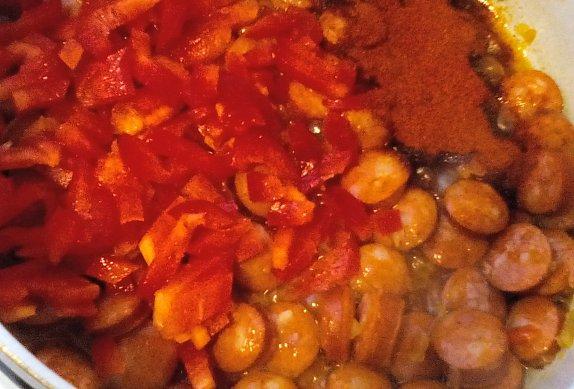 Debrecínská polévka (s medvědím česnekem)