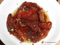 Italská nakládaná sušená rajčata