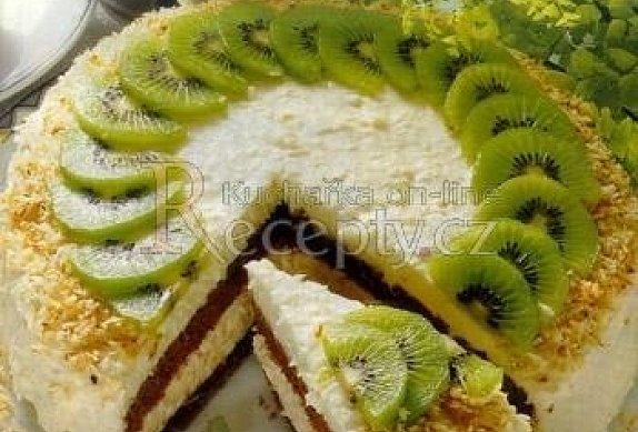Kokosový dort s vaječným koňakem photo-0