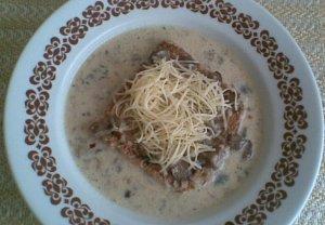 Houbová polévka - Kalábrijská