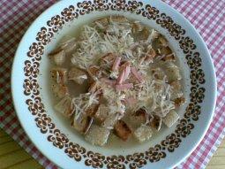 Česneková polévka III.