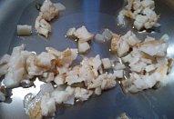 Česnekové kotlety na špeku