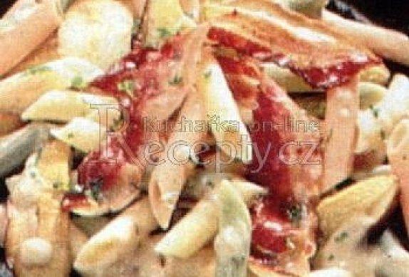 Těstoviny s houbami photo-0