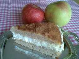 Jablečný (hruškový) hřích - dort