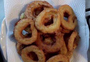 Smažené bramborové kroužky
