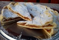 Jablečný koláč z remosky ala štrůdl