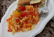 Zeleninový salát se zelím