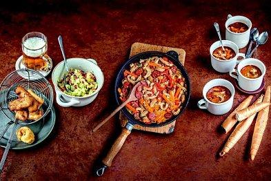 Tři podoby drštěk: v polévce, obalované i pekelně ostré