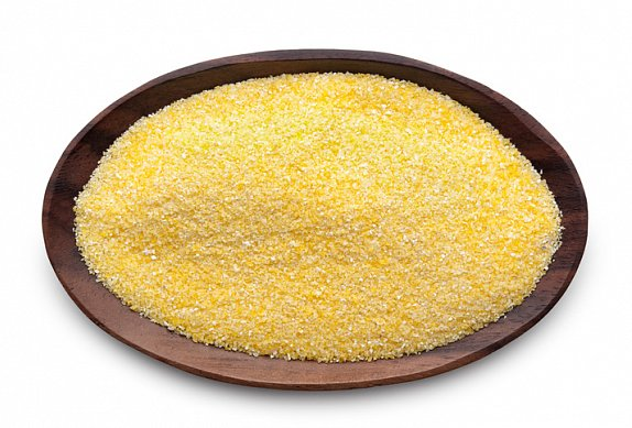 Grilovaná kotleta s polentou