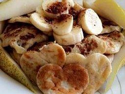 Rychlé banánové lívance