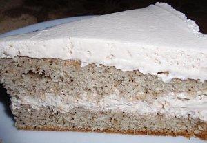 Kávový dort s kávovou šlehačkou