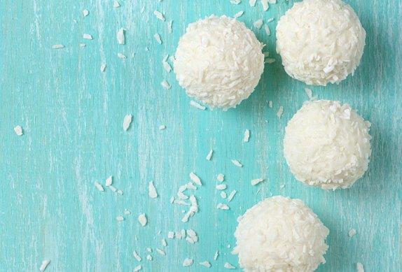Kokosové tofu kuličky photo-0