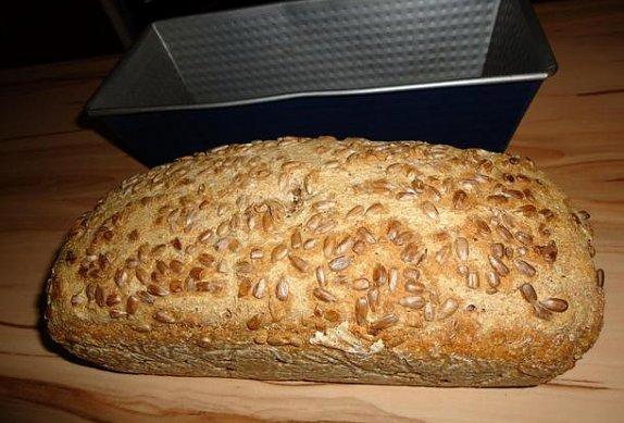 Zdravý chléb do formy