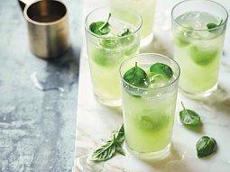 Okurkový gin fizz