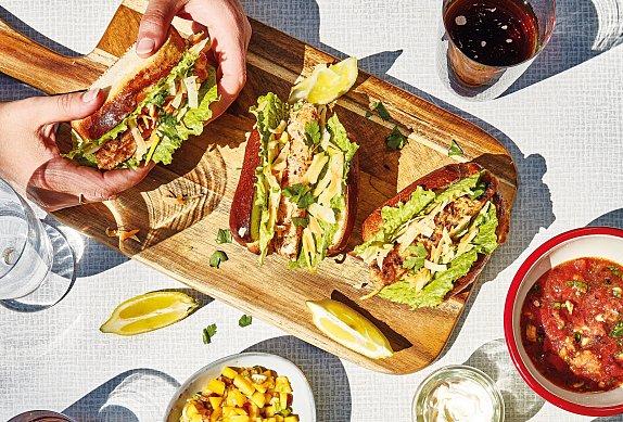 Skandinávský hot dog