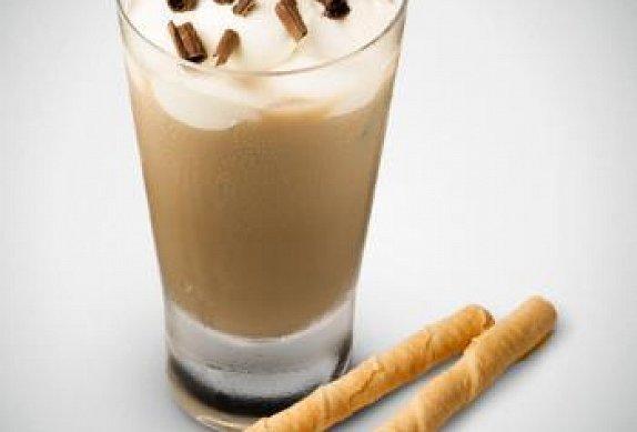 Ledové latte s Baileys