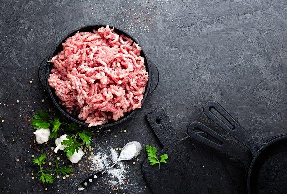 Mleté maso s řapíkatým celerem