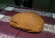 Rychlý domácí celozrnný špaldový chléb
