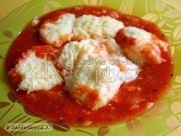 Tvarohové noky v rajčatové omáčce
